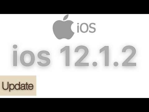 iOS 12.1.2 Update Without WiFi