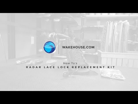 How to Replace Your Waterski Boot Laces | Radar Lace Replacement Kit