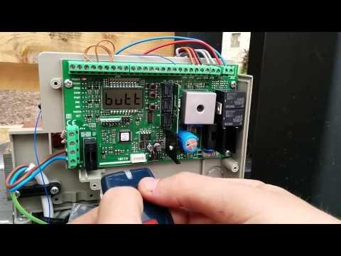 Programar mandos en motor BFT Deimos BT