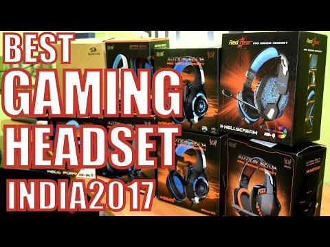 Top 5 Budget Gaming Headset India 2017