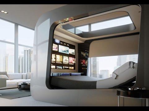 A High Tech Bed To Wish You Good Night Sleep | High tech bedroom furniture | High tech beds for sale