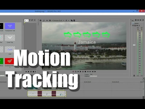Motion Tracking in Vegas Pro 14 Tutorial Boris Match Move