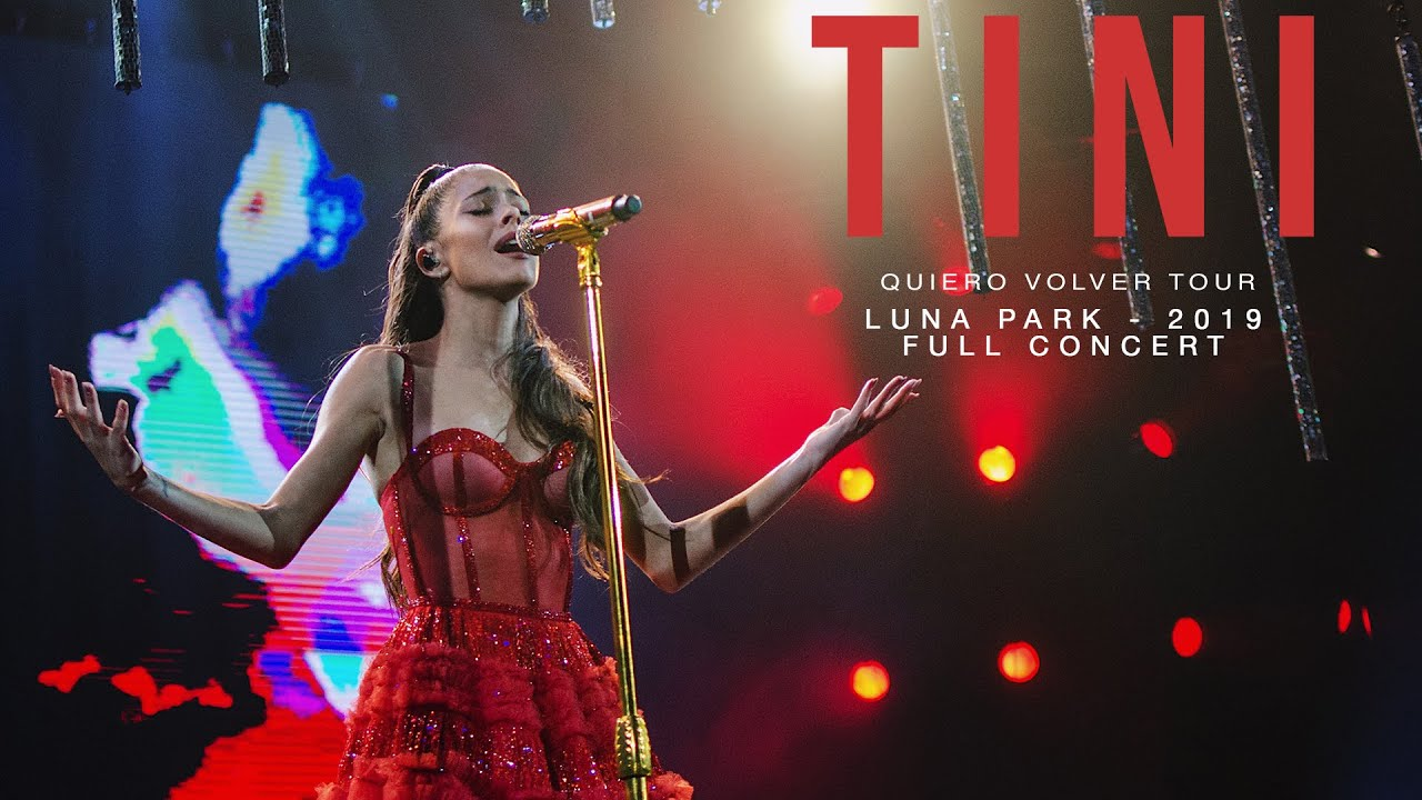 TINI   Quiero Volver Tour - Luna Park 2019 (Full Concert)