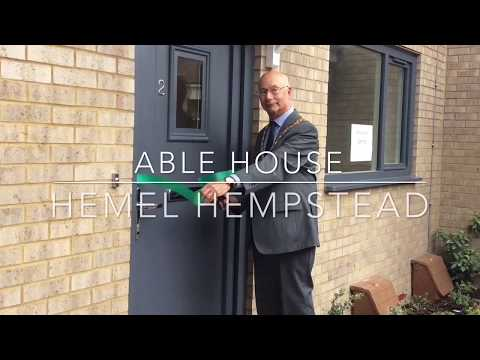 Able House opening