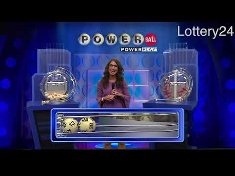 2018 06 13 Powerball Numbers and draw results