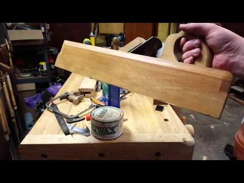 Making a Double Iron Jack Plane - Part 18 - Final Handle Mortise Fitting