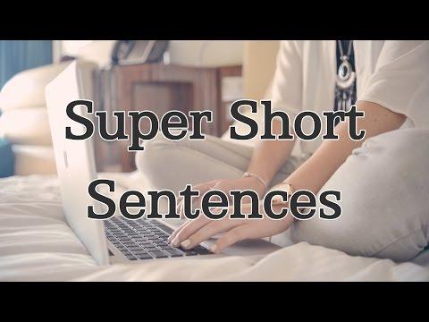 One-word Korean Sentences