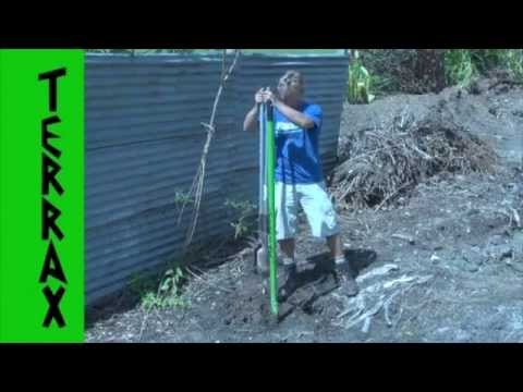 AMAZING DIGGING TOOL chop tree roots with ease