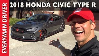 Just Arrived: 2017 Honda Civic Type R on Everyman Driver
