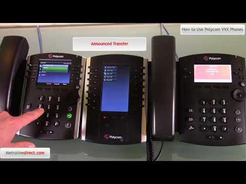 How to Use Polycom VVX Phones