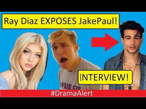 Ray Diaz EXPOSES JAKE PAUL! (INTERVIEW) #DramaAlert & Responds to Loren Gray!