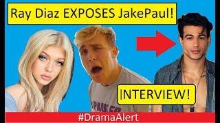 Ray Diaz EXPOSES JAKE PAUL! (INTERVIEW) #DramaAlert & Responds to Loren Gray!