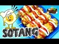 Sotang (Sosis Kentang) Fried Sausage with Potatoes! [Eng Subtitle] - Asta And Food