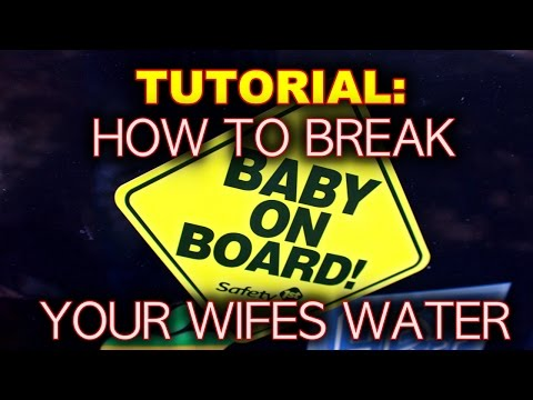 TUTORIAL: How to Break Your Water! Go Into LABOR NOW