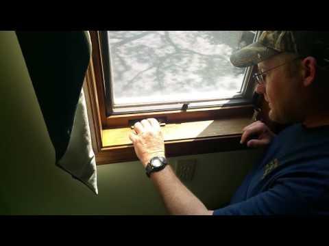 How to fix a Caradco casement window crank mechanism