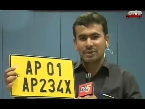 High Security No.Plates System in Andhra Pradesh