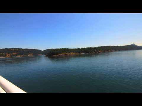 Swartz Bay to Tsawwassen BC Ferry Ride Time Lapse