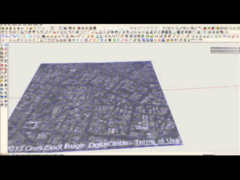 SKETCHUP TUTORIAL: HOW TO CREATE CONTOURS using live site