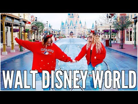 DISNEY WORLD REALLY IS THE HAPPIEST PLACE ON EARTH - WEEKLY VLOG   LucyAndLydia