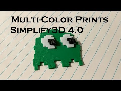 Tutorial] Multi-Color Prints on Single Nozzle Printer in
