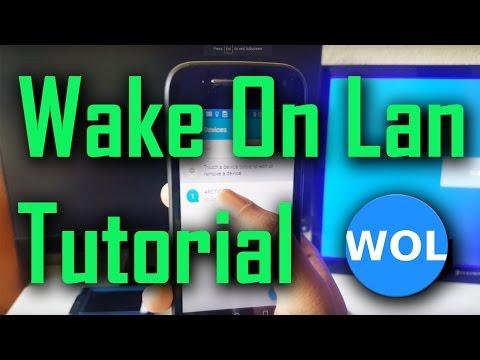 Wake On Lan - Android App Tutorial