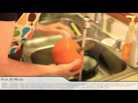 How to Make Pumpkin Puree - Pumpkin Puree in 5 Minutes using a Pressure Cooker