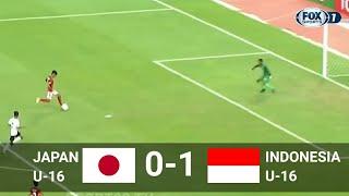 JAPAN 0-1 INDONESIA FT ✓ U-16 JENESYS CUP JEPANG 2018 ✓ 11/03/2018