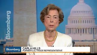 Tariffs Will Hurt U.S. and China Workers, Ex-Trade Rep. Hills Says
