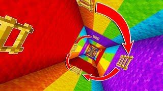 CRAZY RAINBOW PARKOUR! (CAN