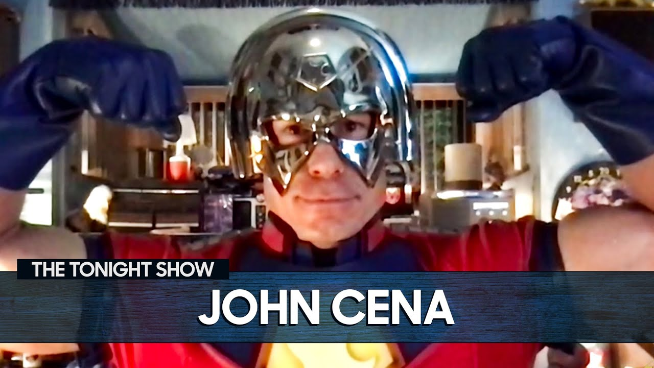 John Cena Gives an Exclusive Sneak Peek of His Peacemaker Costume