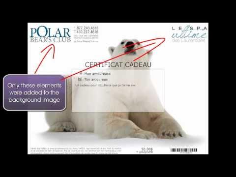 Ko! Custom Gift Certificate - Create model