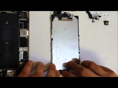 How to replace iPhone 6 Plus LCD Glass Screen | Screen Replacement