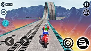 Impossible Moto Bike Tracks 3D 2018-Best Android Gameplay HD #42