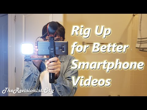 Installation & Unboxing Review of Comica CVM R3 Smartphone Handle Grip