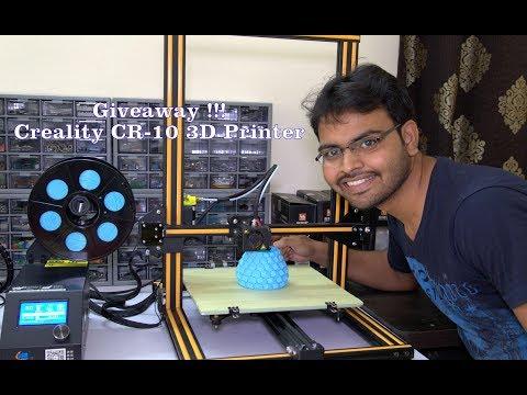 Giveaway - Creality CR-10 3D Printer