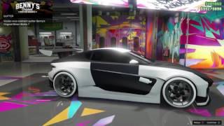 GTA 5 Online: Dewbauchee Specter Custom customisation