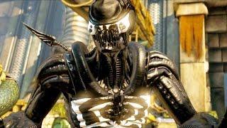 Mortal Kombat Xl - All Klassic Fatalities On Venom Alien Costume Skin Mod 4k Ultra Hd Gameplay Mods