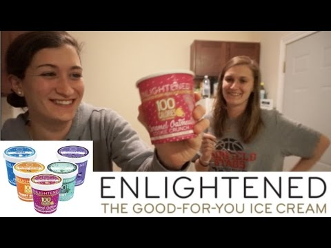 ENLIGHTENED Ice Cream Review!! (ft.  SCGERALI)