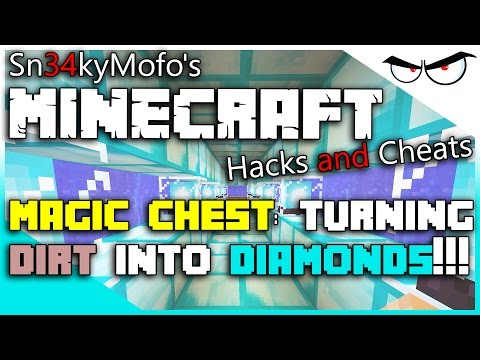 Minecraft 1.8.x Hacks and Cheats: Turning Dirt into Diamonds! (Using Cheat Engine)