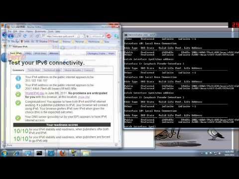Deprecated IPv6 addresses in Windows 7