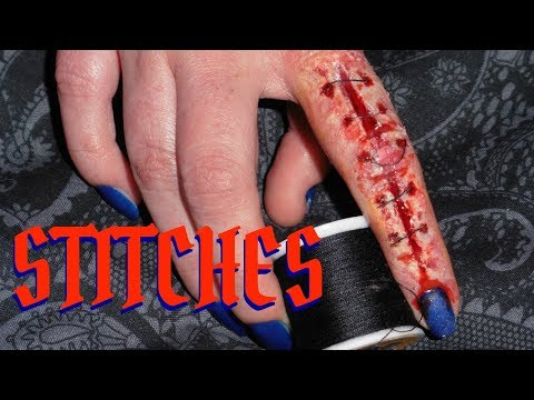Sliced Finger and Stitches SFX Tutorial