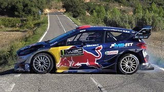 Test Ott Tanak | Ford Fiesta WRC | RallyRACC 2017 by Jaume Soler