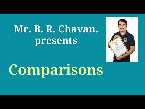 Comparisons -B.R.Chavan.