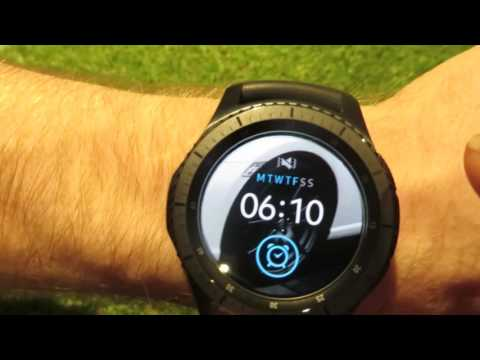 Samsung Gear S3 Custom Theme app - set your own background pictures!