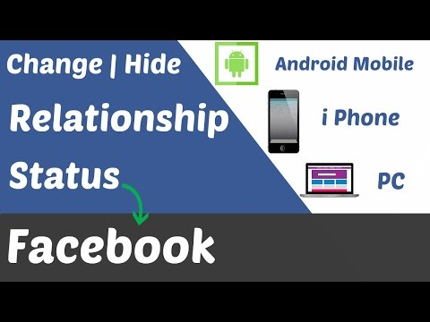 How To Change Relationship Status on Facebook in Mobile, Computer| 2017 |  Hide Relationship on fb