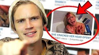 Top 10 MOST CLICKBAIT Youtubers! (Lance Stewart, Pewdiepie & More)