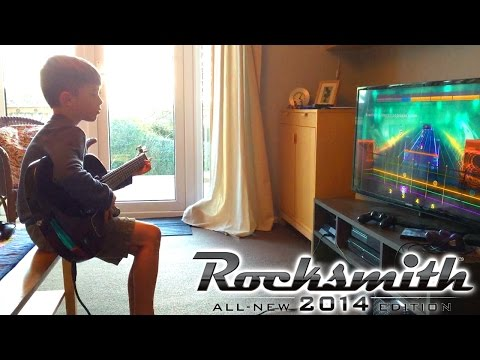 Let's Play Rocksmith 2014 - Win £310 Xbox One / PS4 Guitar and Fitness Games