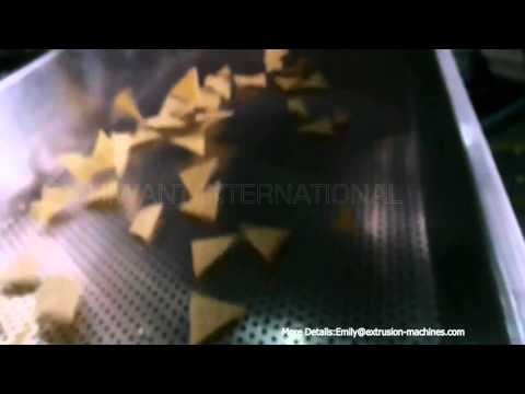 Fried tortilla chips & corn chips making machine Designed for commecial purpose with large scale