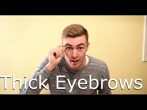 How to Get thick Eyebrows!
