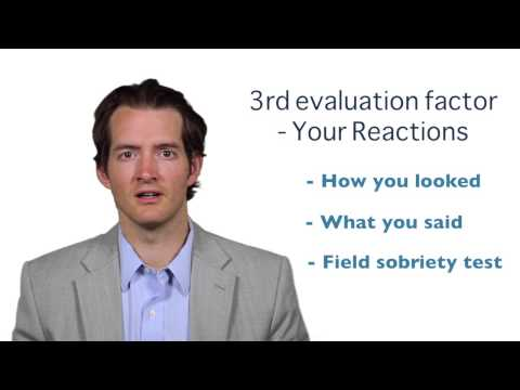 Evaluation of your coordination and actions | Atlanta DUI Lawyer